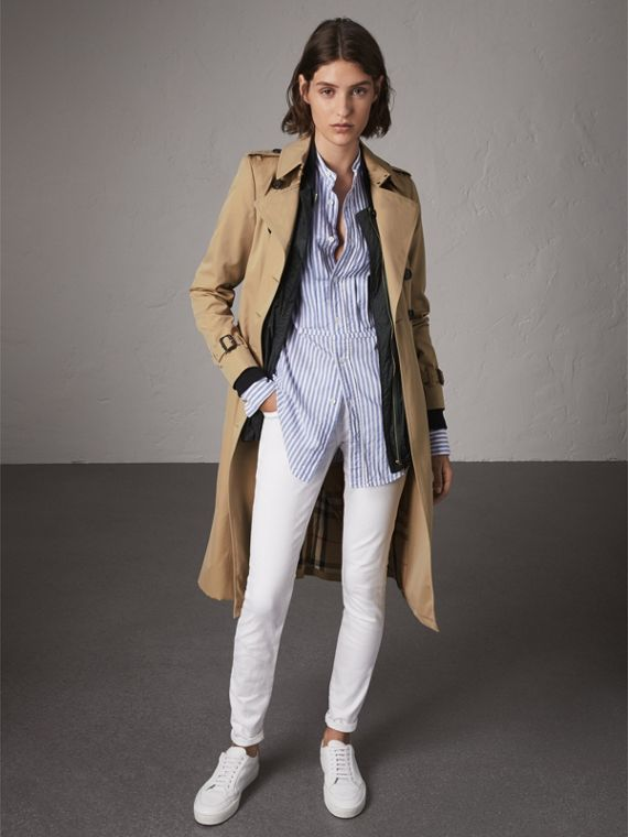 The Chelsea – Extra-long Heritage Trench Coat in Honey