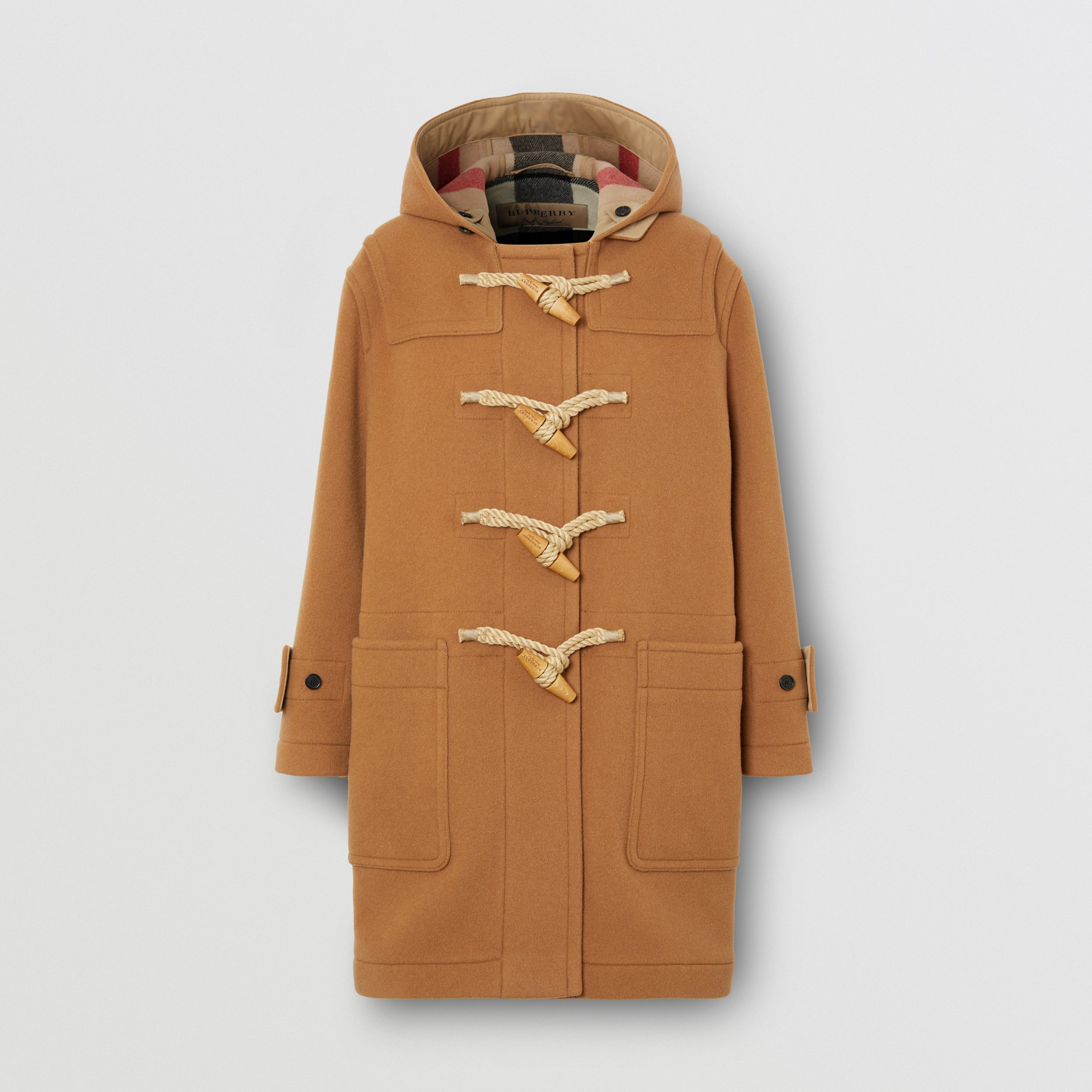 The Greenwich Duffle Coat in Mid Camel - Women | Burberry - 1