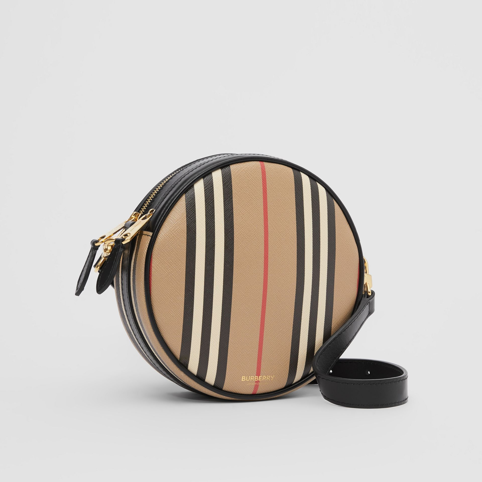 Icon Stripe E-canvas Louise Bag in Archive Beige | Burberry - gallery image 6