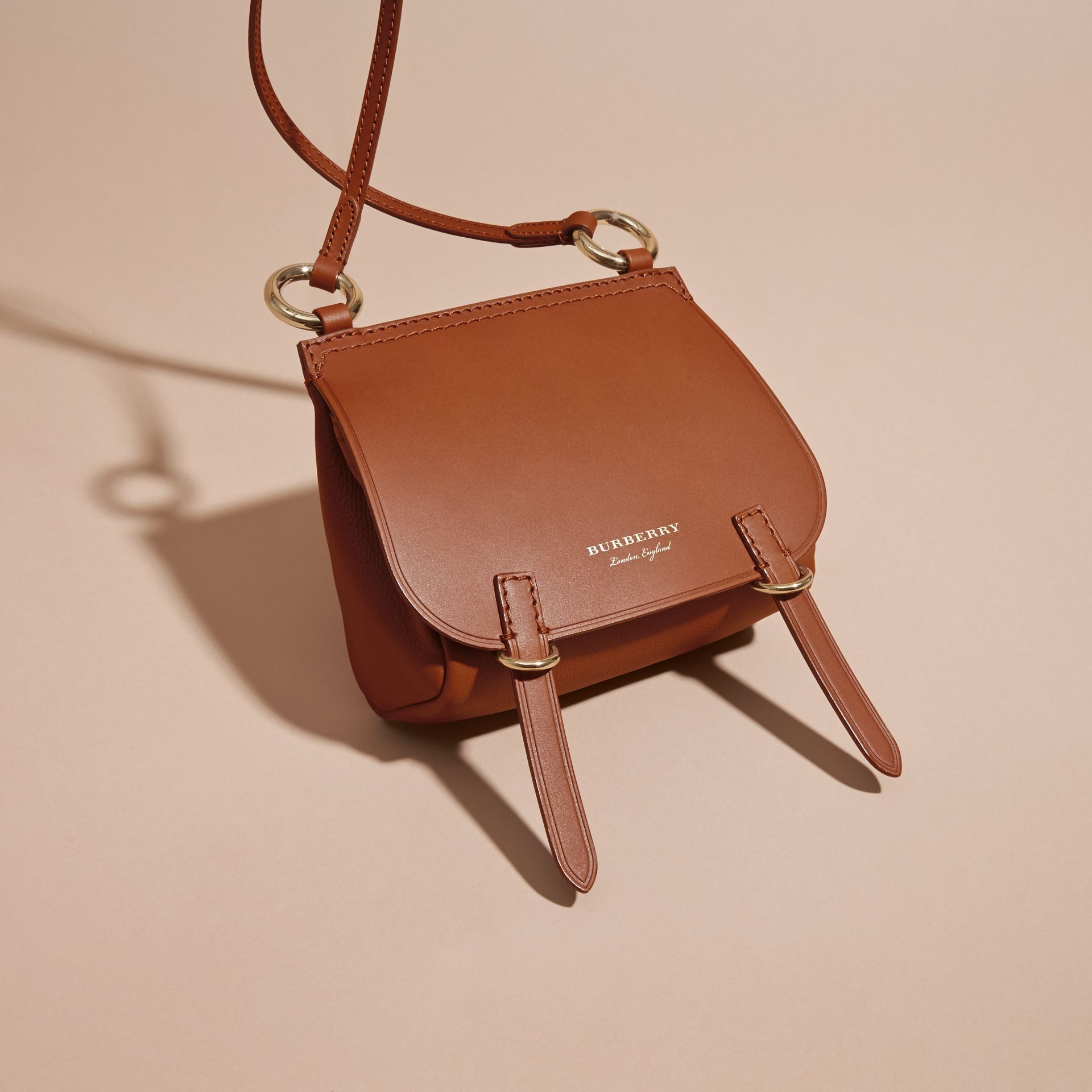 The Baby Bridle Bag in Leather Tan - gallery image 7