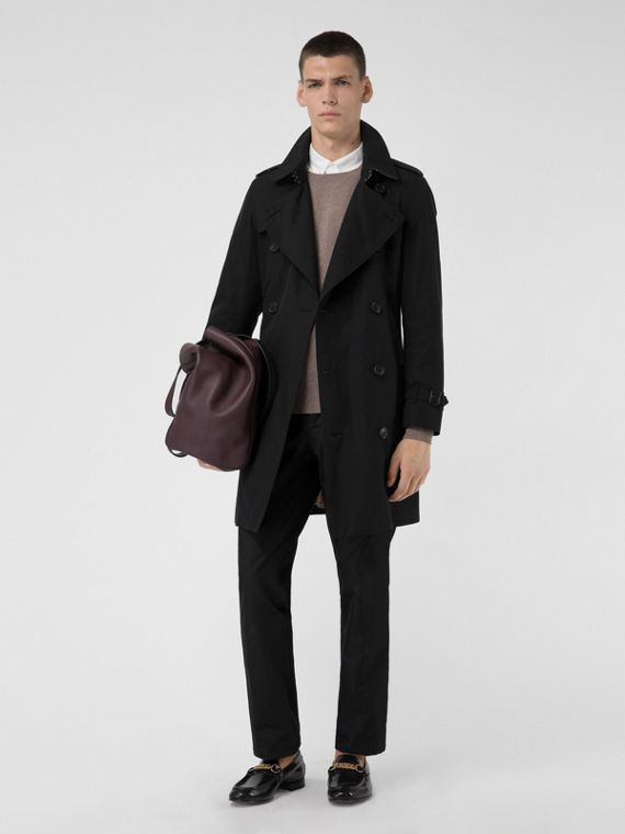 Trench coat Heritage The Chelsea (Nero)