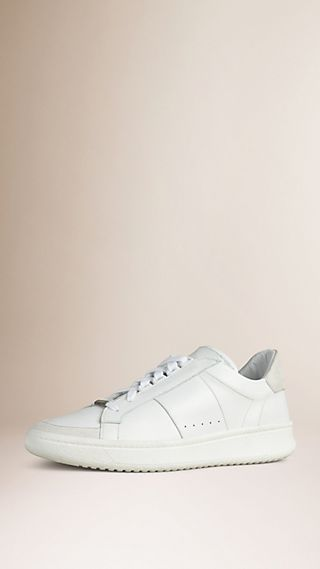 Leather and Suede Trainers