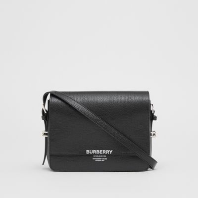 Small Leather Grace Bag in Black Women   Burberry