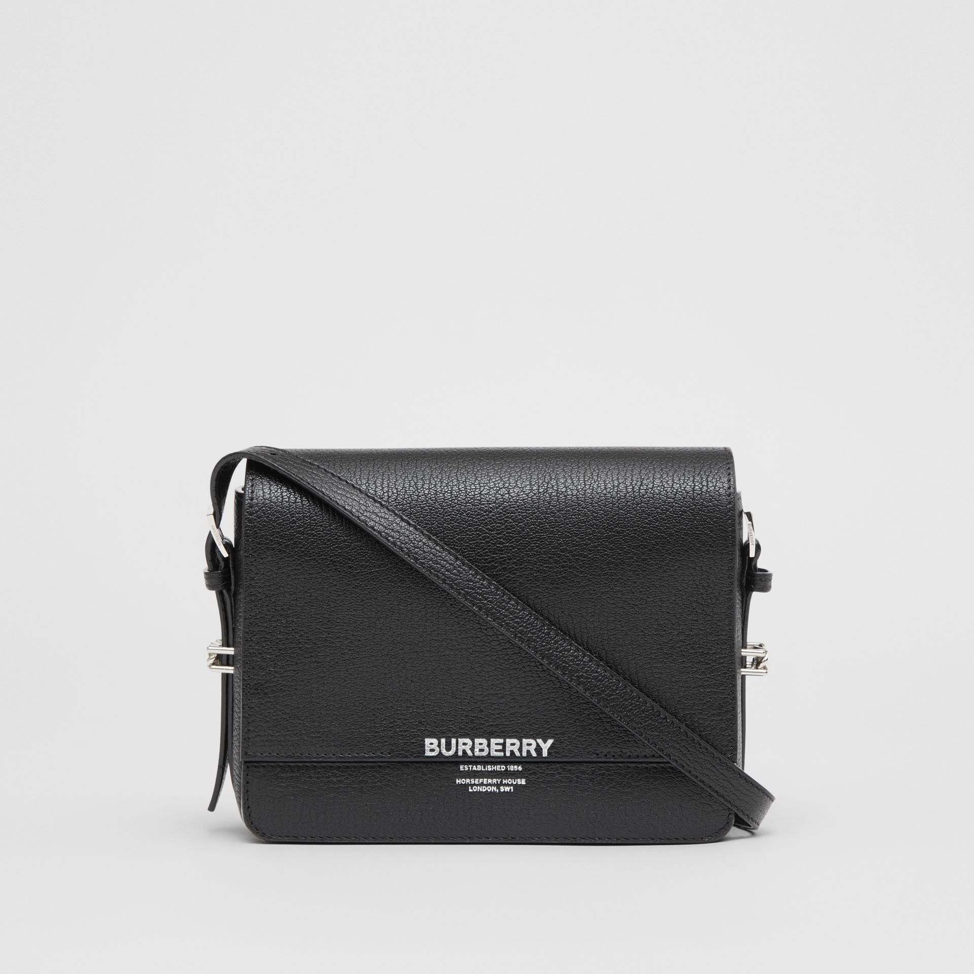 Small Leather Grace Bag in Black - Women | Burberry Hong Kong - gallery image 0