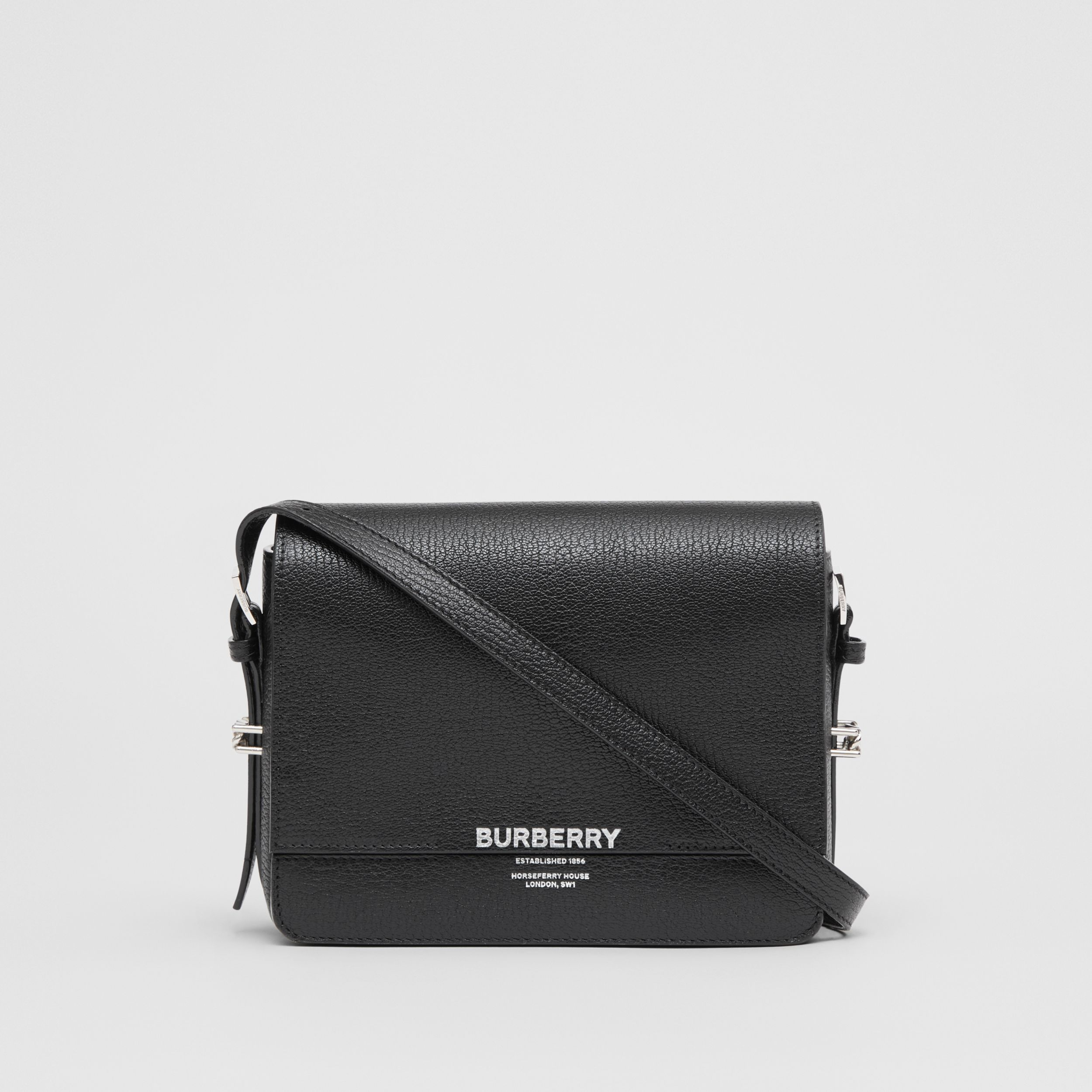 Small Leather Grace Bag in Black - Women | Burberry - 1