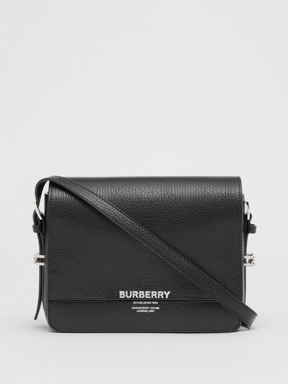 Small Leather Grace Bag in Black