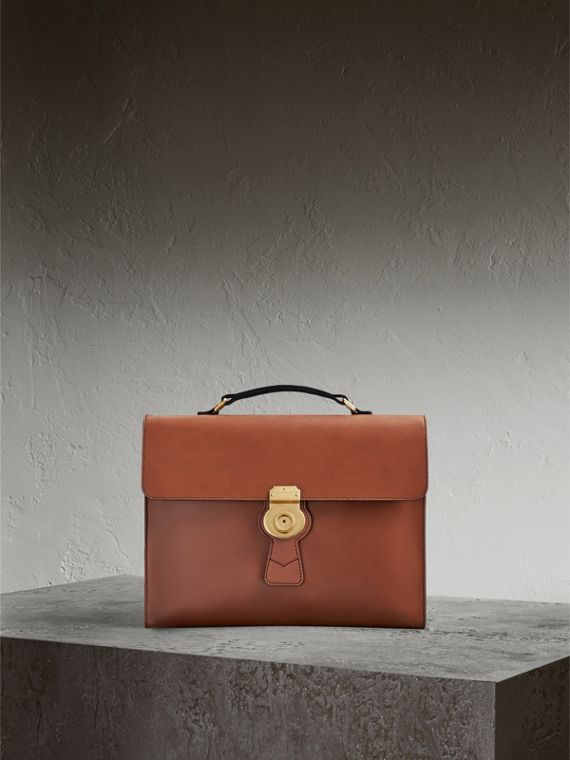 The Large DK88 Document Case in Tan
