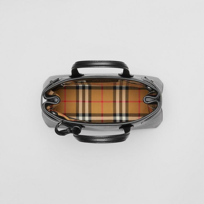 Burberry - Petit sac TheBanner en cuir avec Vintage check - 6