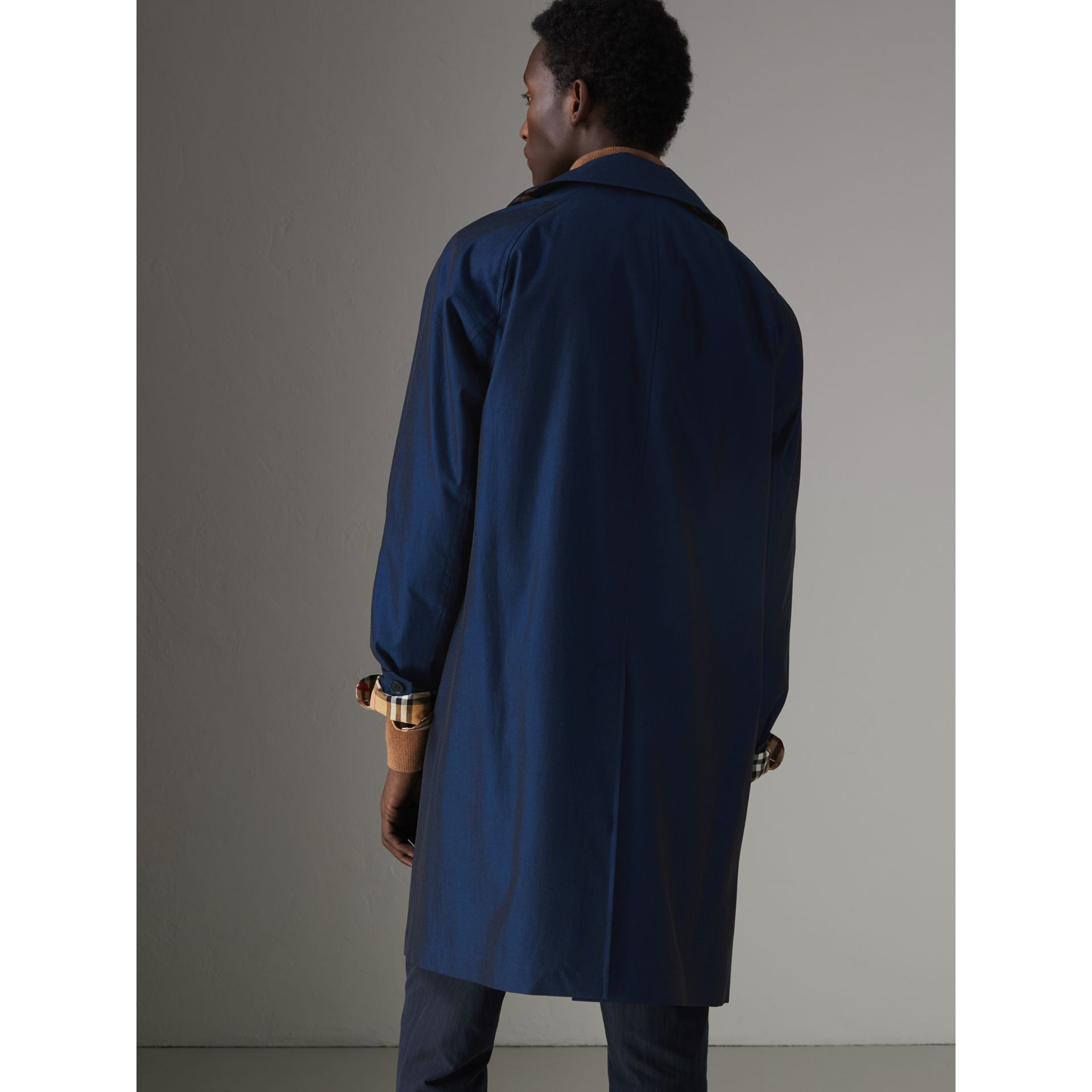 The Camden Car Coat in Bright Regency Blue - Men | Burberry United Kingdom - gallery image 2