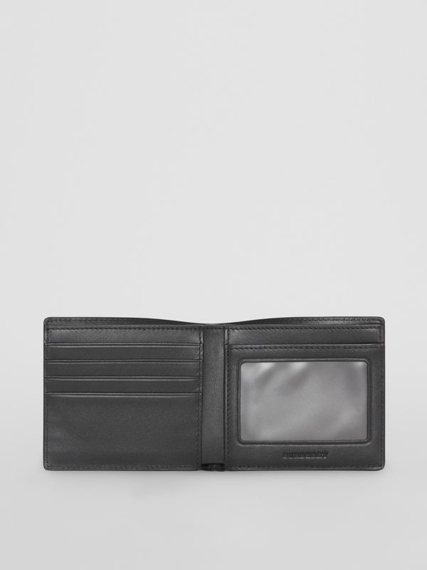 London Check ID Wallet in Navy/black - Men | Burberry Hong Kong - cell image 3