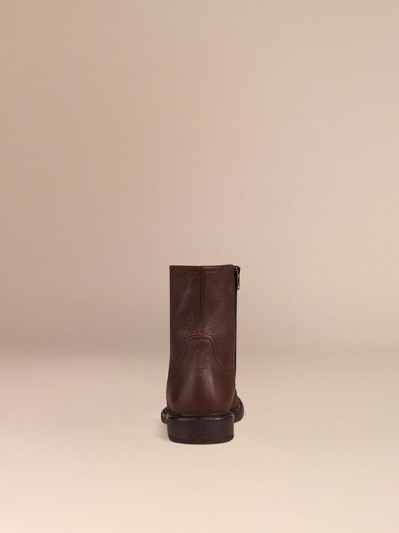 Bitter chocolate Deerskin Boots - cell image 3