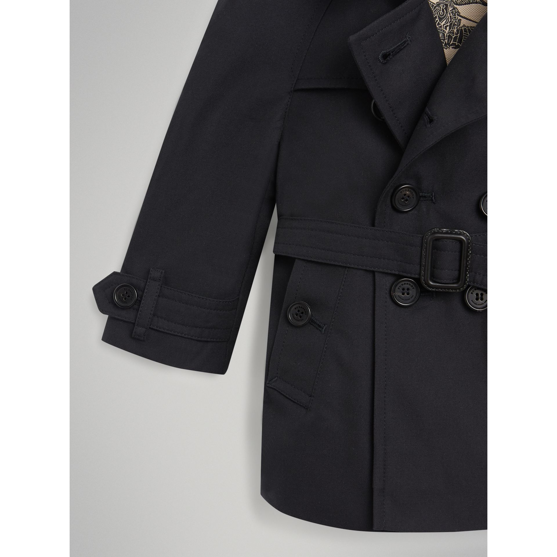 The Wiltshire Trench Coat in Navy | Burberry Australia - gallery image 1