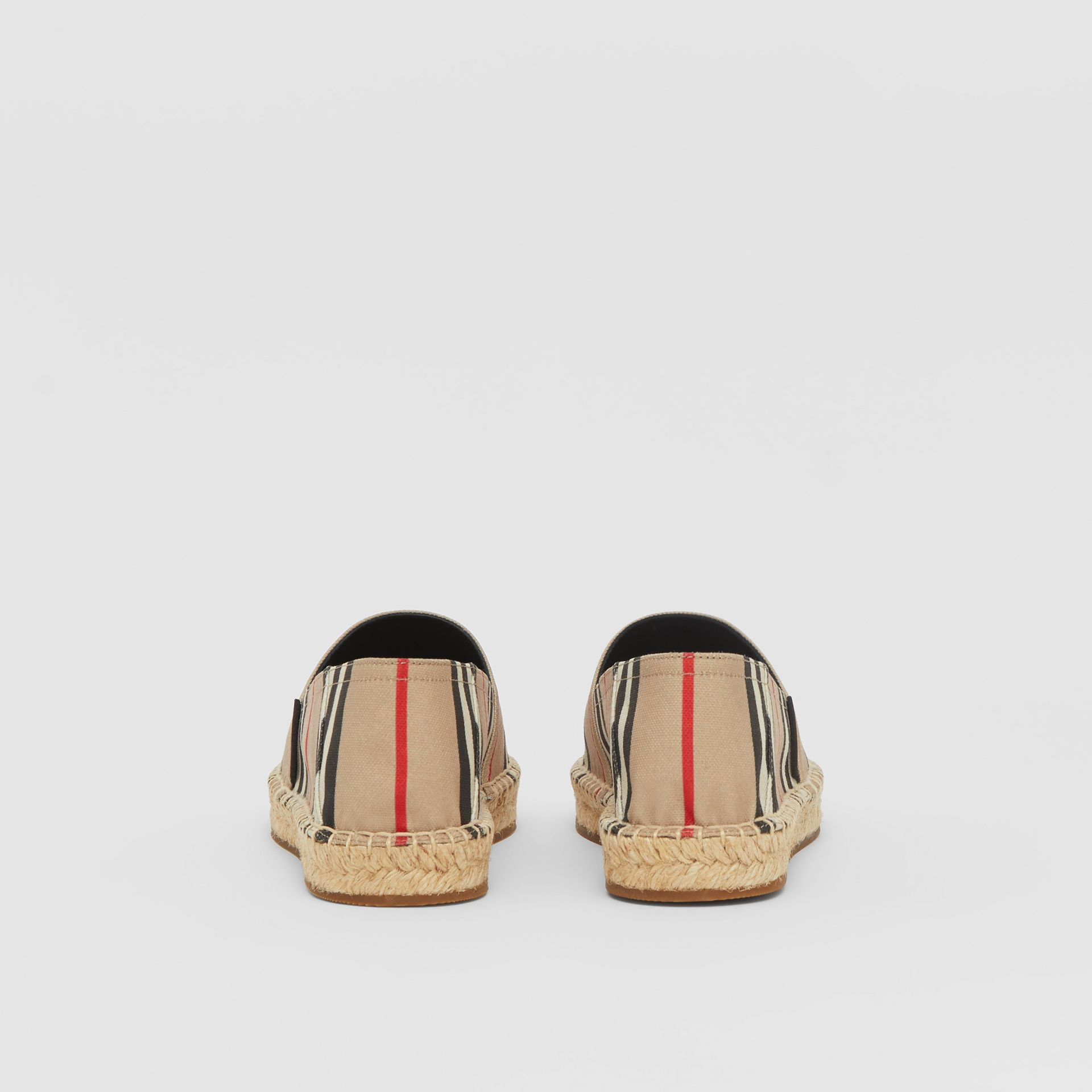 Icon Stripe Espadrilles in Archive Beige - Women | Burberry United Kingdom - gallery image 3