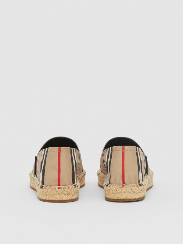 Icon Stripe Espadrilles in Archive Beige - Women | Burberry United Kingdom - cell image 3