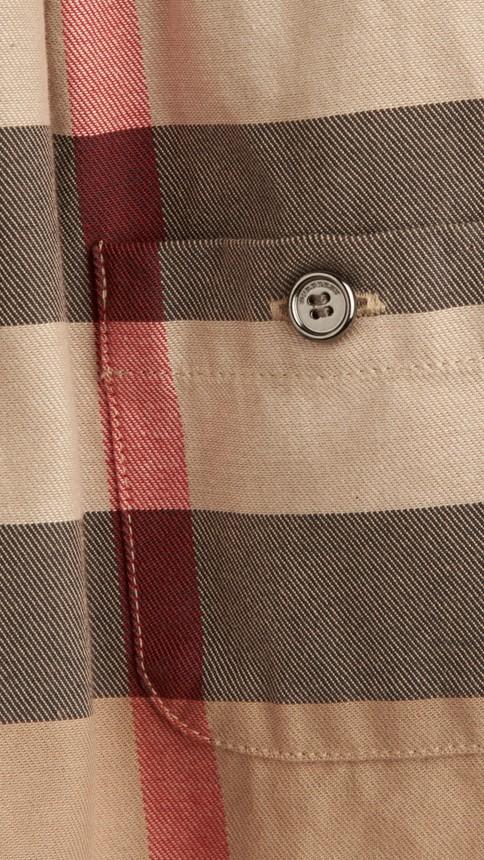 Classique nouveau Robe en coton check - Image 2