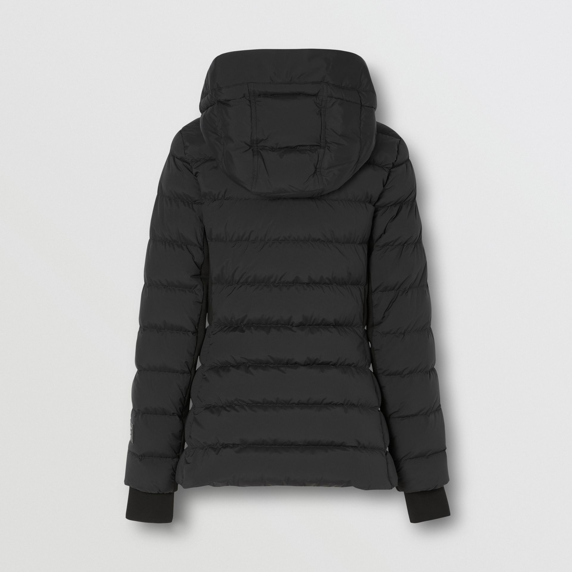 Hooded Puffer Jacket in Black - Women | Burberry United States - gallery image 6
