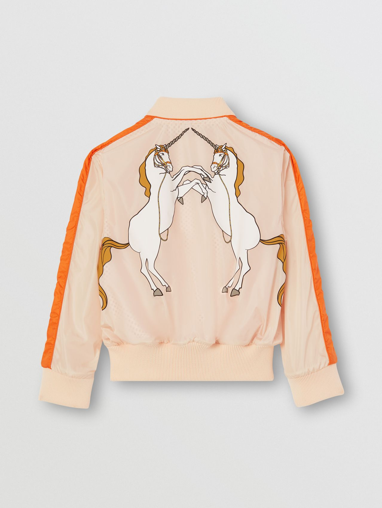 Unicorn Print Bomber Jacket