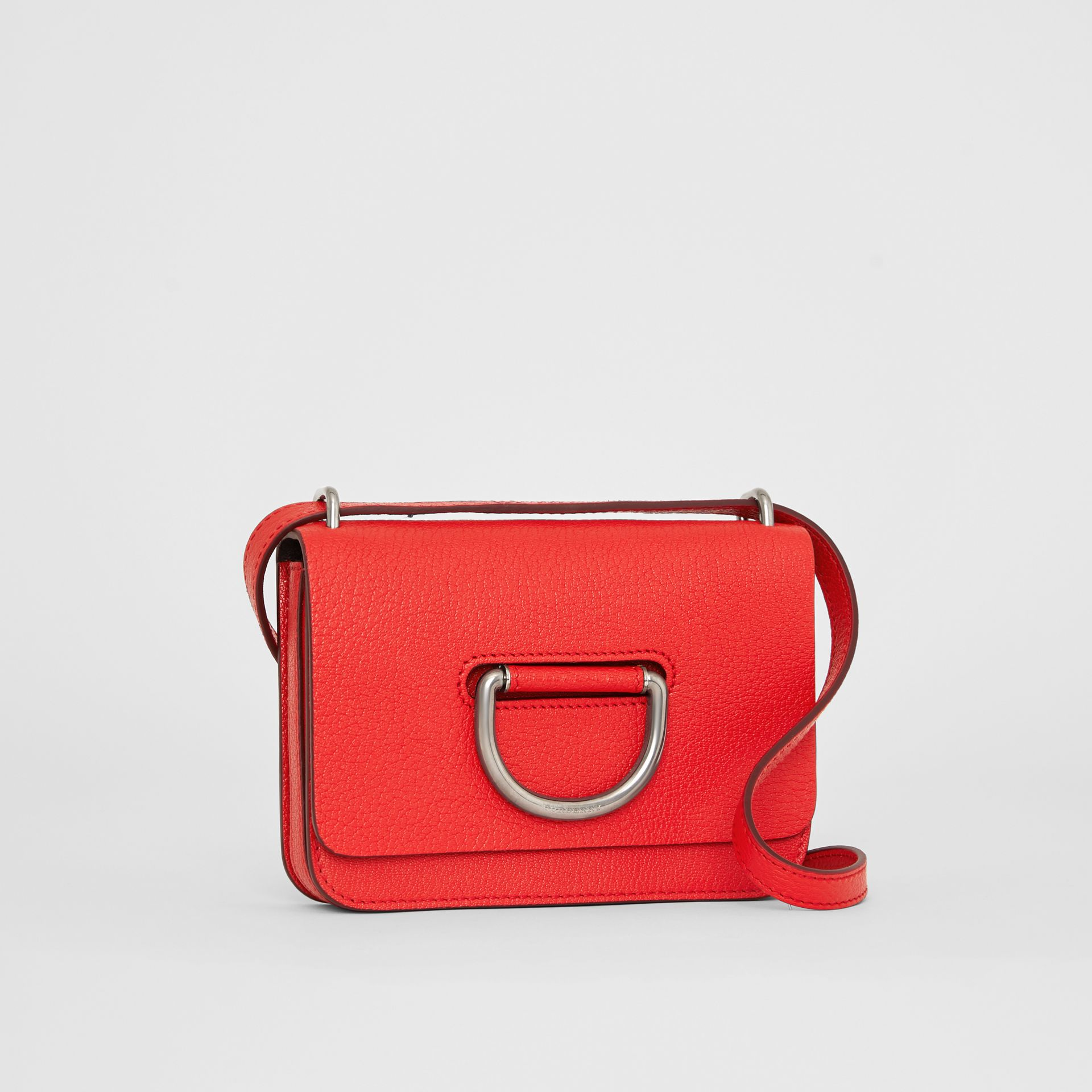 Mini sac The D-ring en cuir (Rouge Vif) - Femme | Burberry Canada - photo de la galerie 6