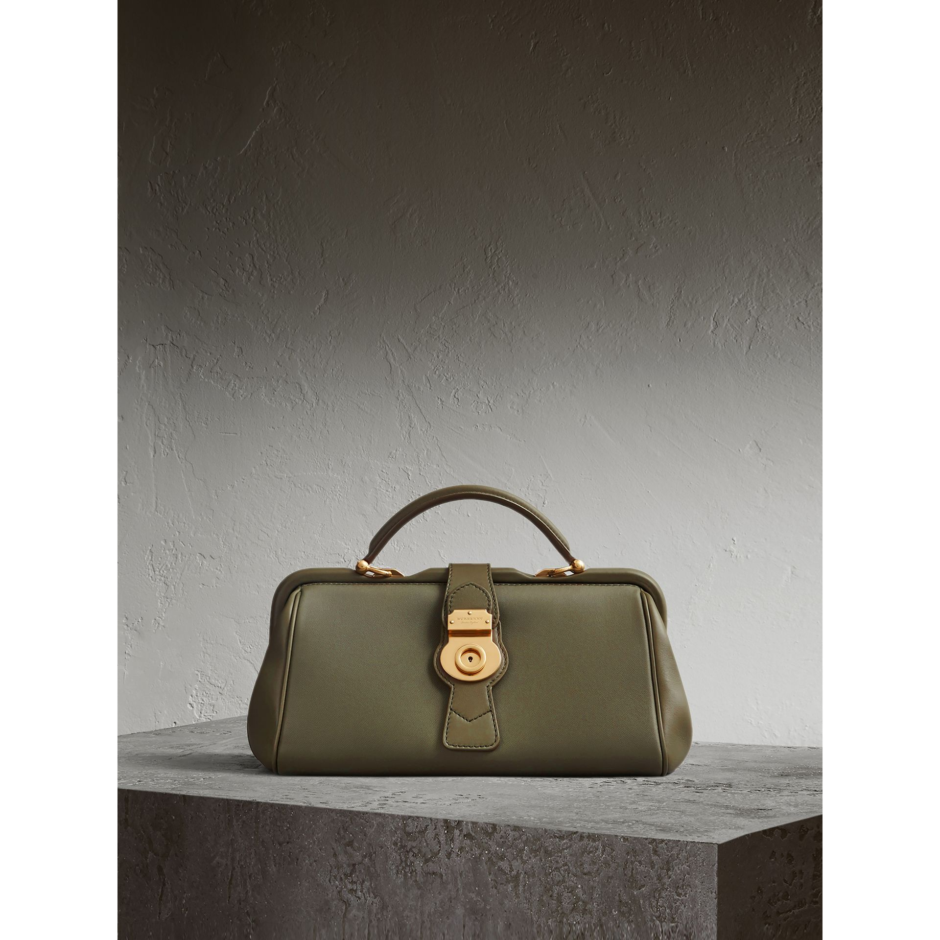 The DK88 Bowling Bag in Moss Green - Women | Burberry United Kingdom - gallery image 1