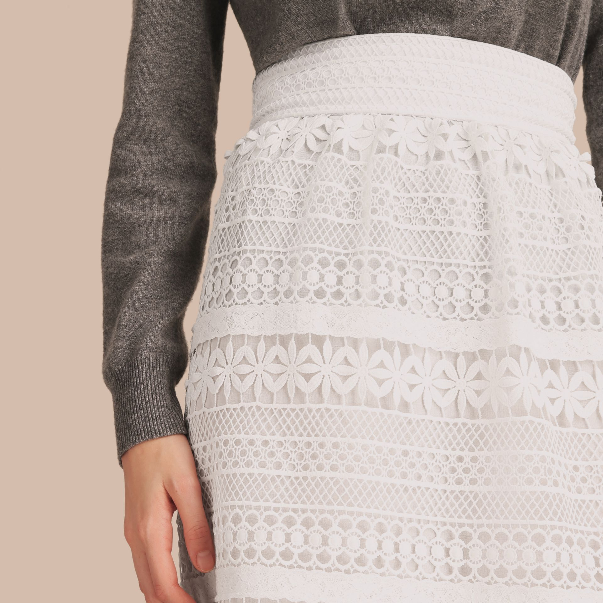 Macramé Lace Skirt - gallery image 5