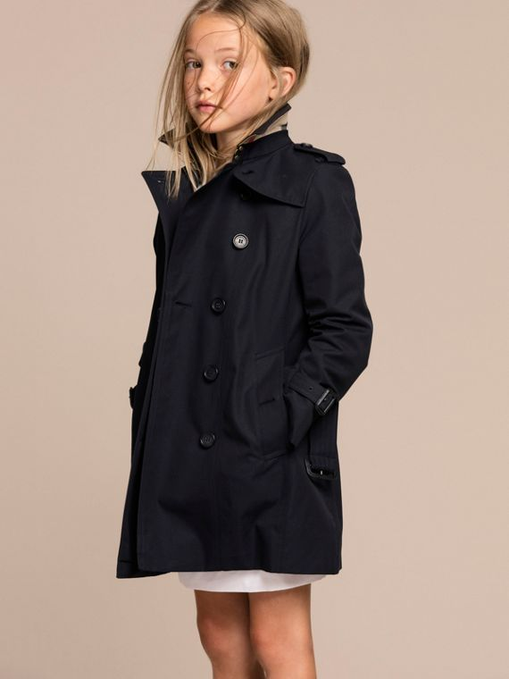 The Sandringham – Heritage Trench Coat Navy - cell image 2