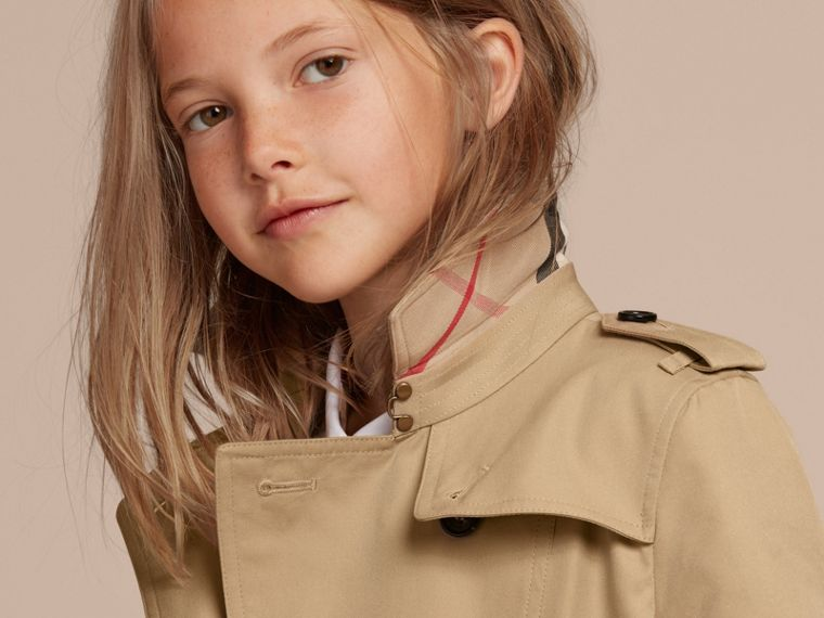 The Sandringham - Trench coat Heritage (Mel) - Menina | Burberry - cell image 1