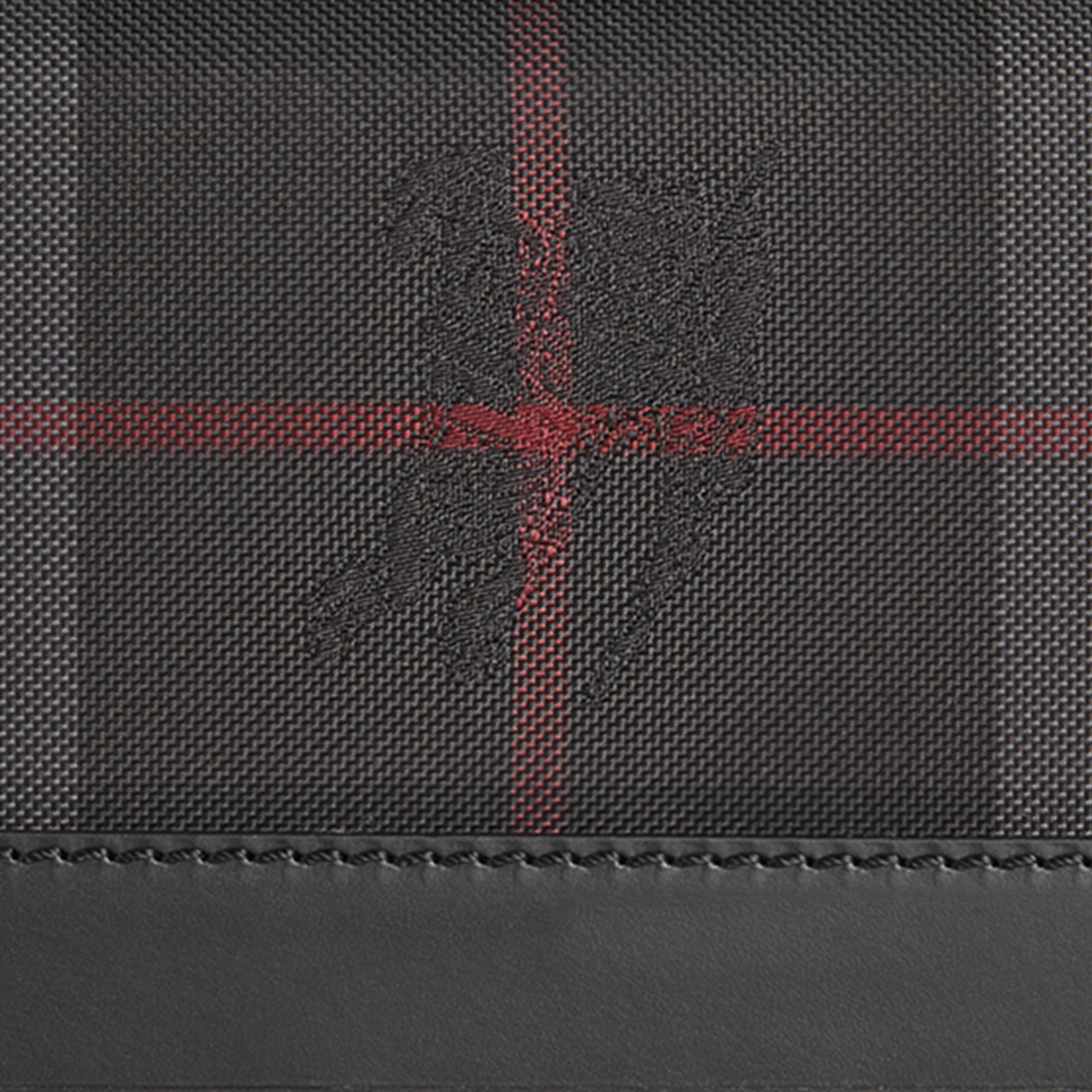 Horseferry Check Continental Wallet Charcoal/black - gallery image 2