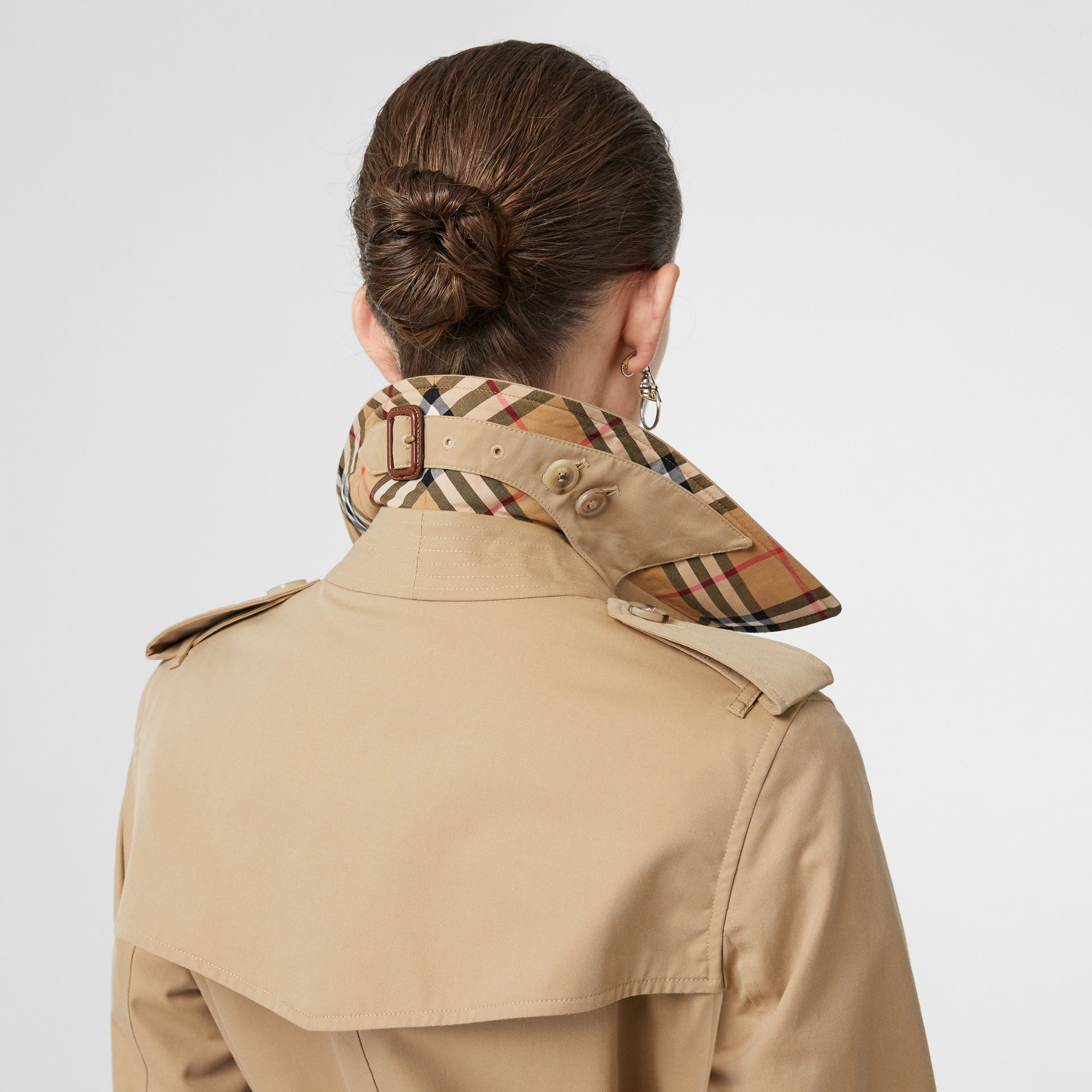 The Kensington – Trench Heritage long (Miel) - Femme | Burberry - photo de la galerie 4