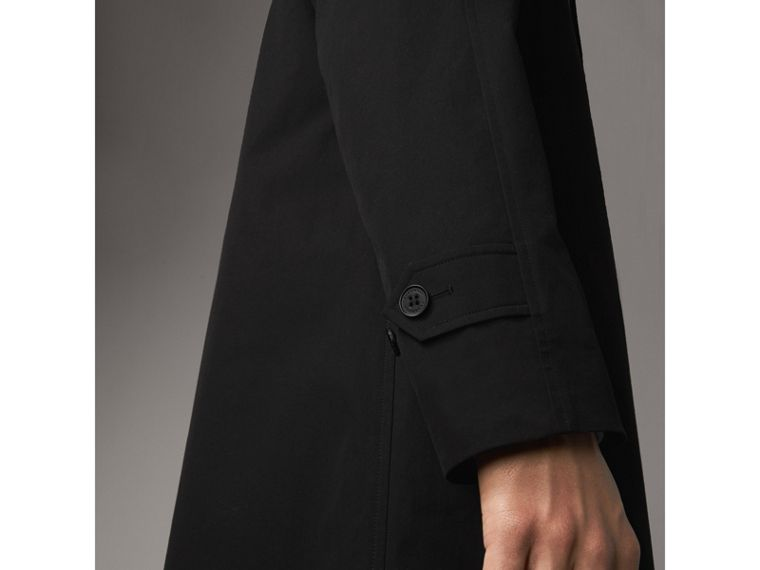 The Camden – Long Car Coat in Black - Men | Burberry Canada - cell image 4