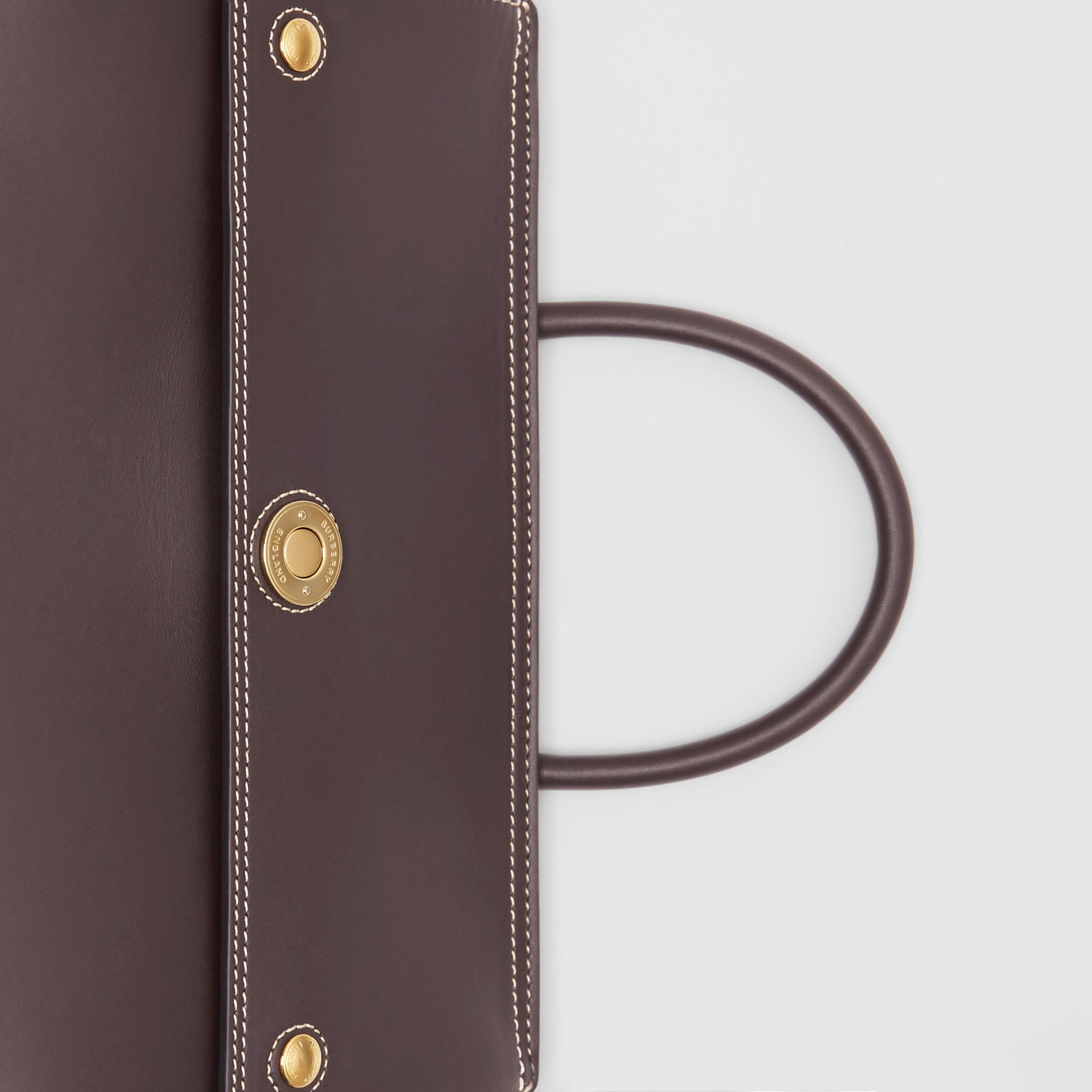 Small Leather Elizabeth Bag in Coffee - Women | Burberry United Kingdom - gallery image 1