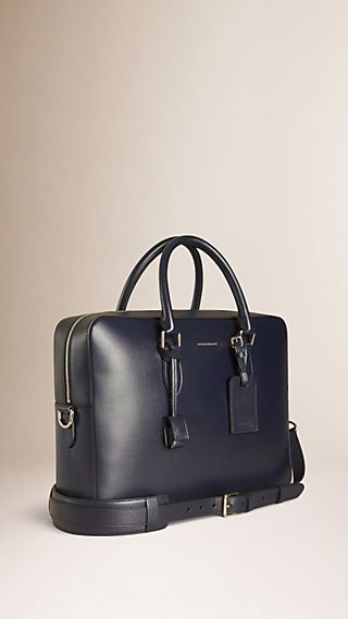 Large London Leather Briefcase