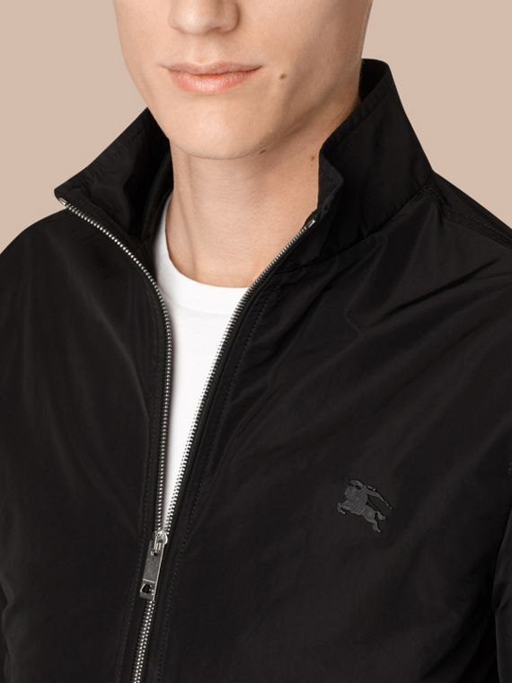 Lightweight Technical Jacket in Black - cell image 3