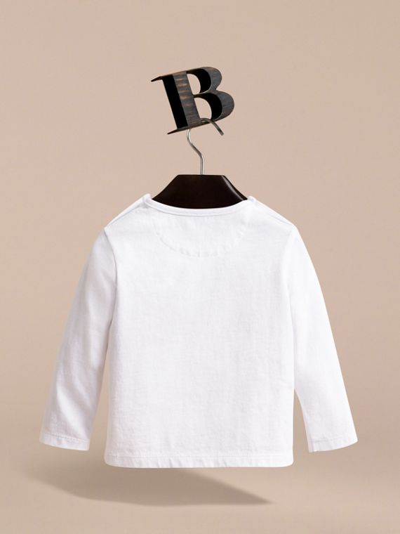 Thomas Bear Guardsman Print Cotton Top - Children | Burberry - cell image 3