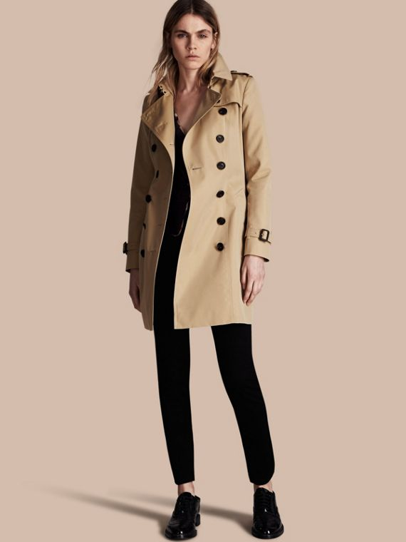 The Chelsea - Trench coat Heritage medio Miele