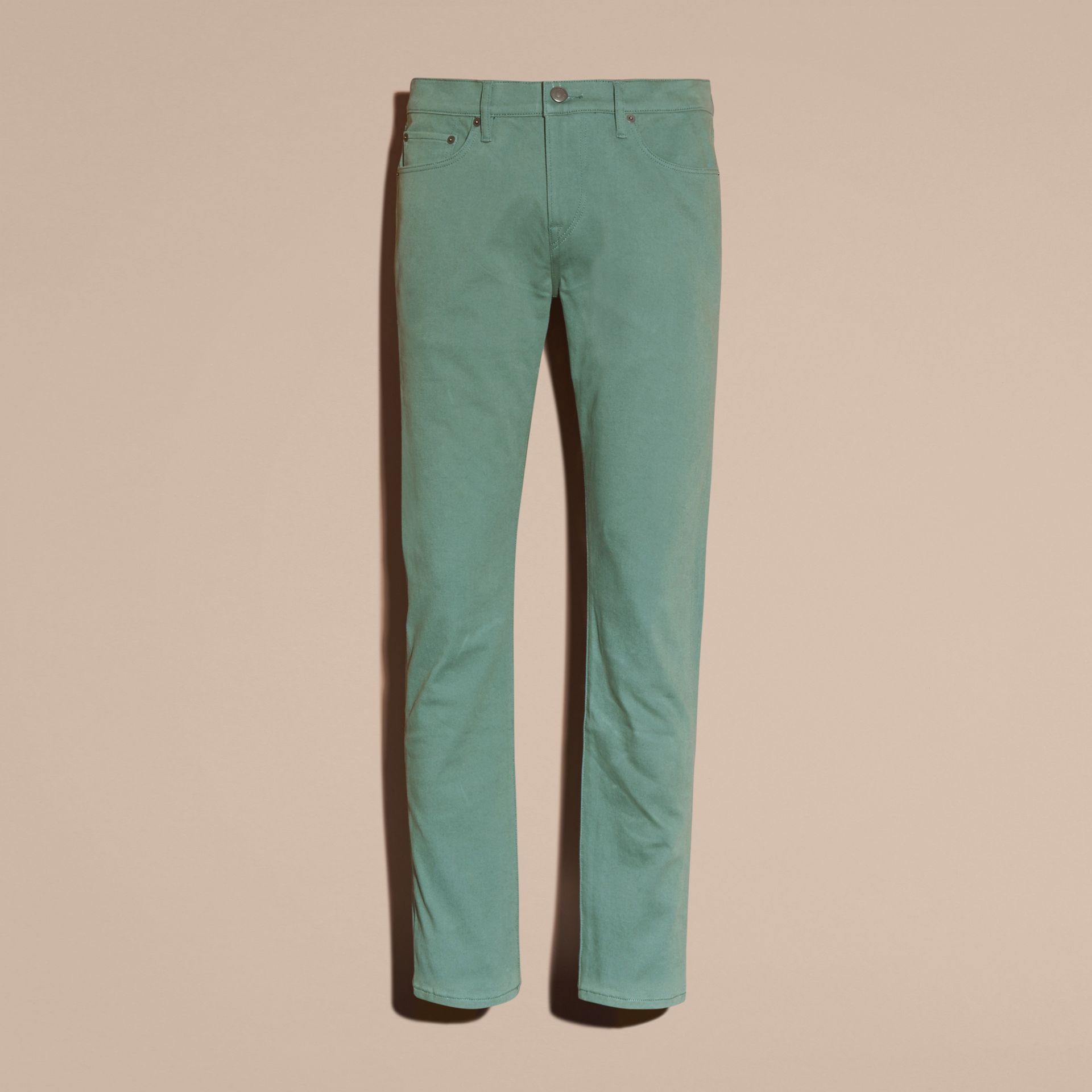 Slim Fit Stretch Japanese Denim - gallery image 4
