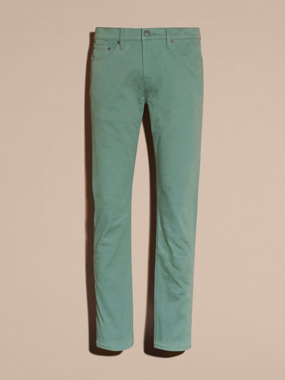 Slim Fit Stretch Japanese Denim - cell image 3
