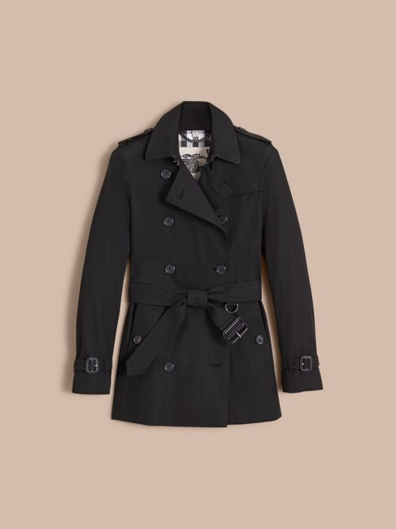 Trench coat Kensington - Trench coat Heritage corto (Negro) - cell image 3