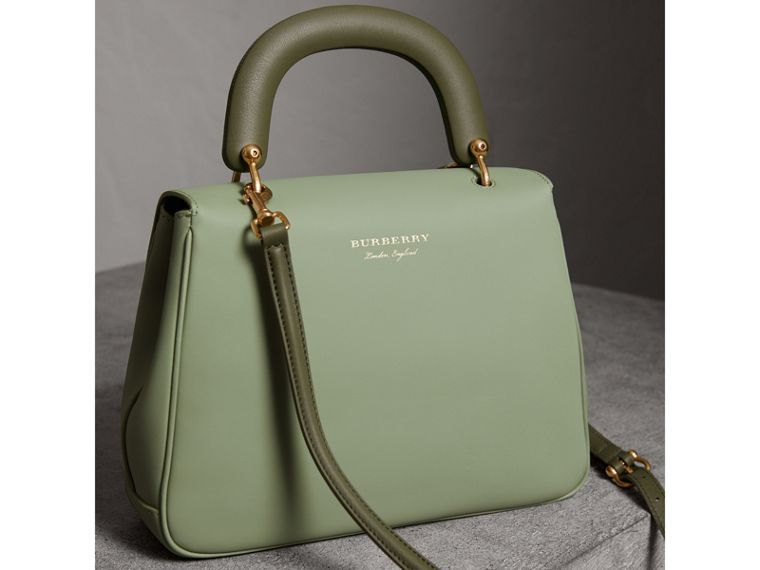 The Medium DK88 Top Handle Bag in Celadon Green - Women | Burberry - cell image 4