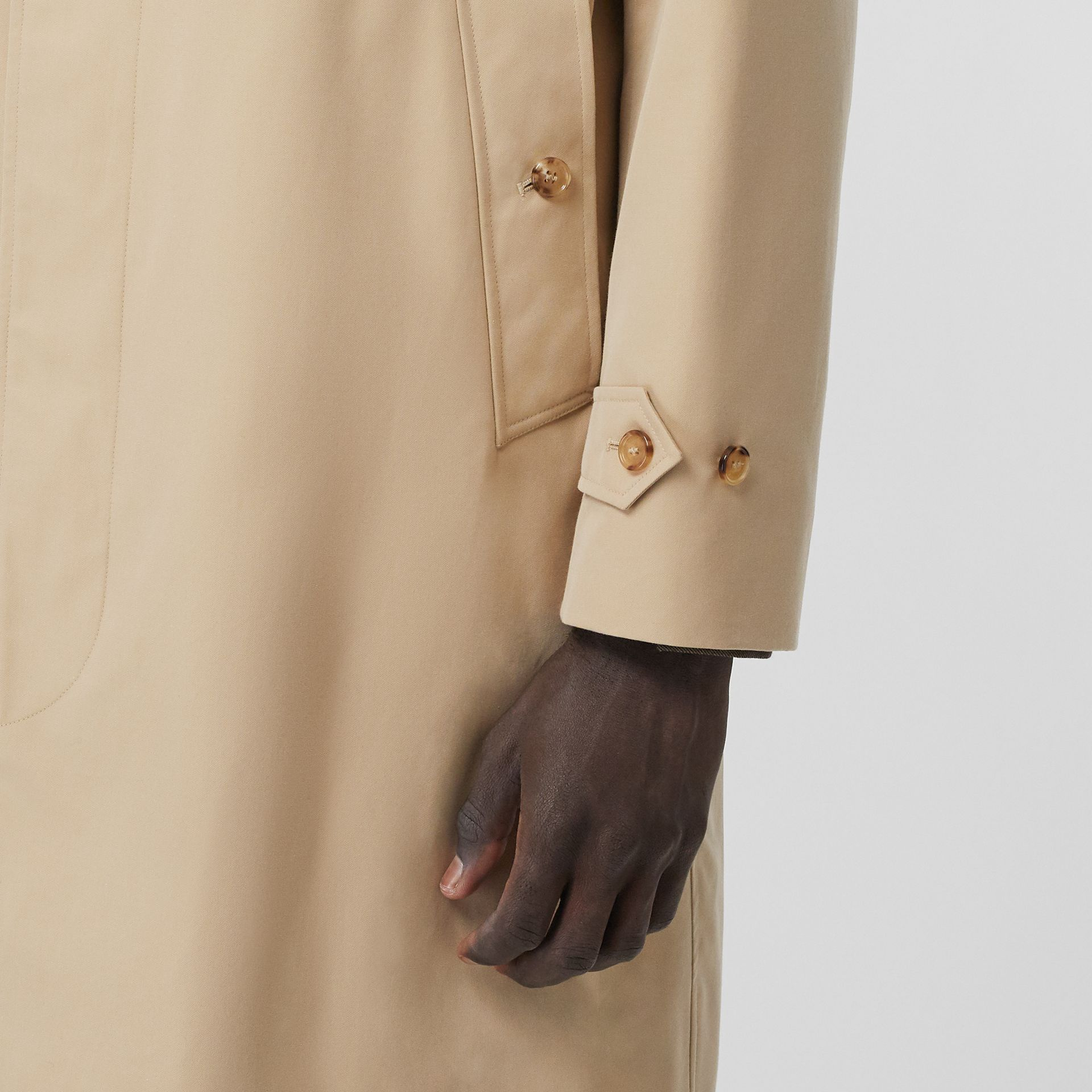 The Pimlico Car Coat in Honey - Men | Burberry Australia - gallery image 4