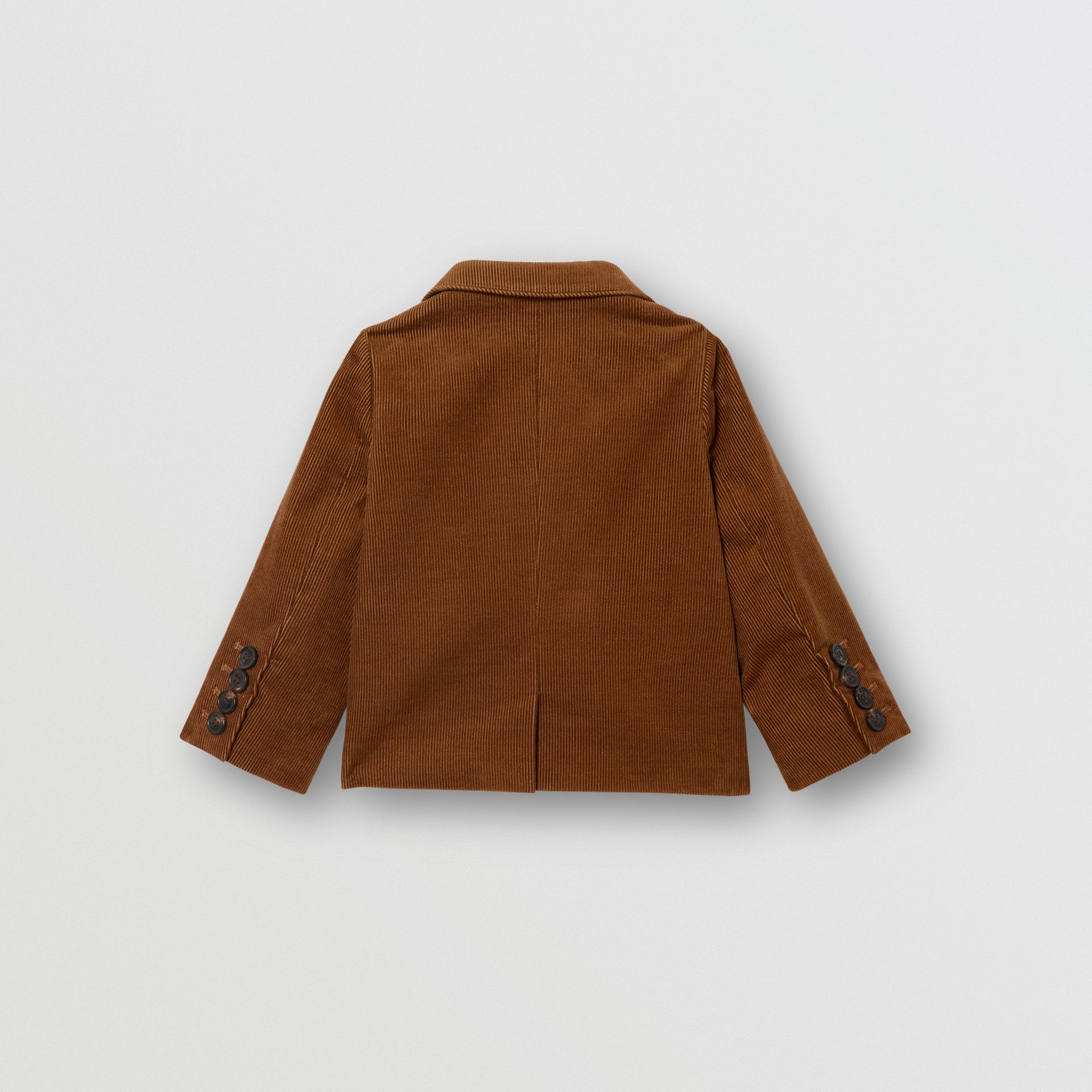 Corduroy Blazer in Camel | Burberry - gallery image 3