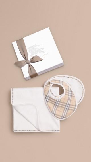 Cotton Three-piece Baby Gift Set