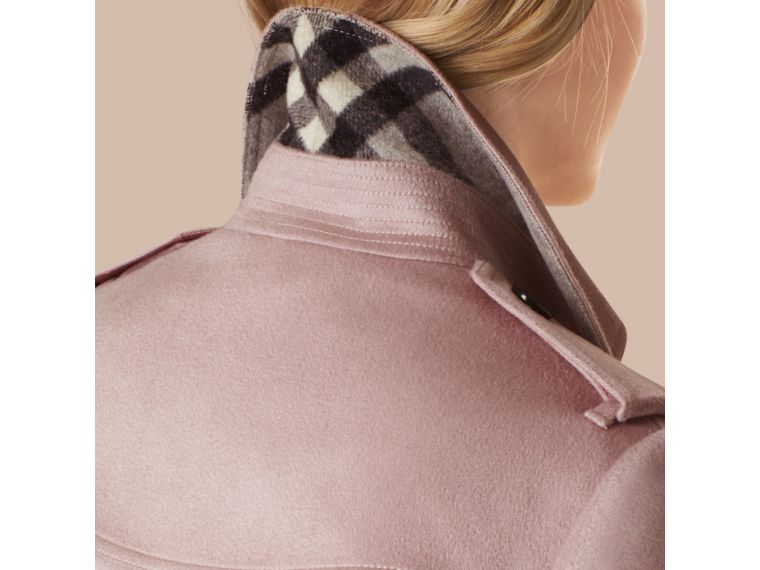BURBERRY Cashmeres SANDRINGHAM FIT CASHMERE TRENCH COAT