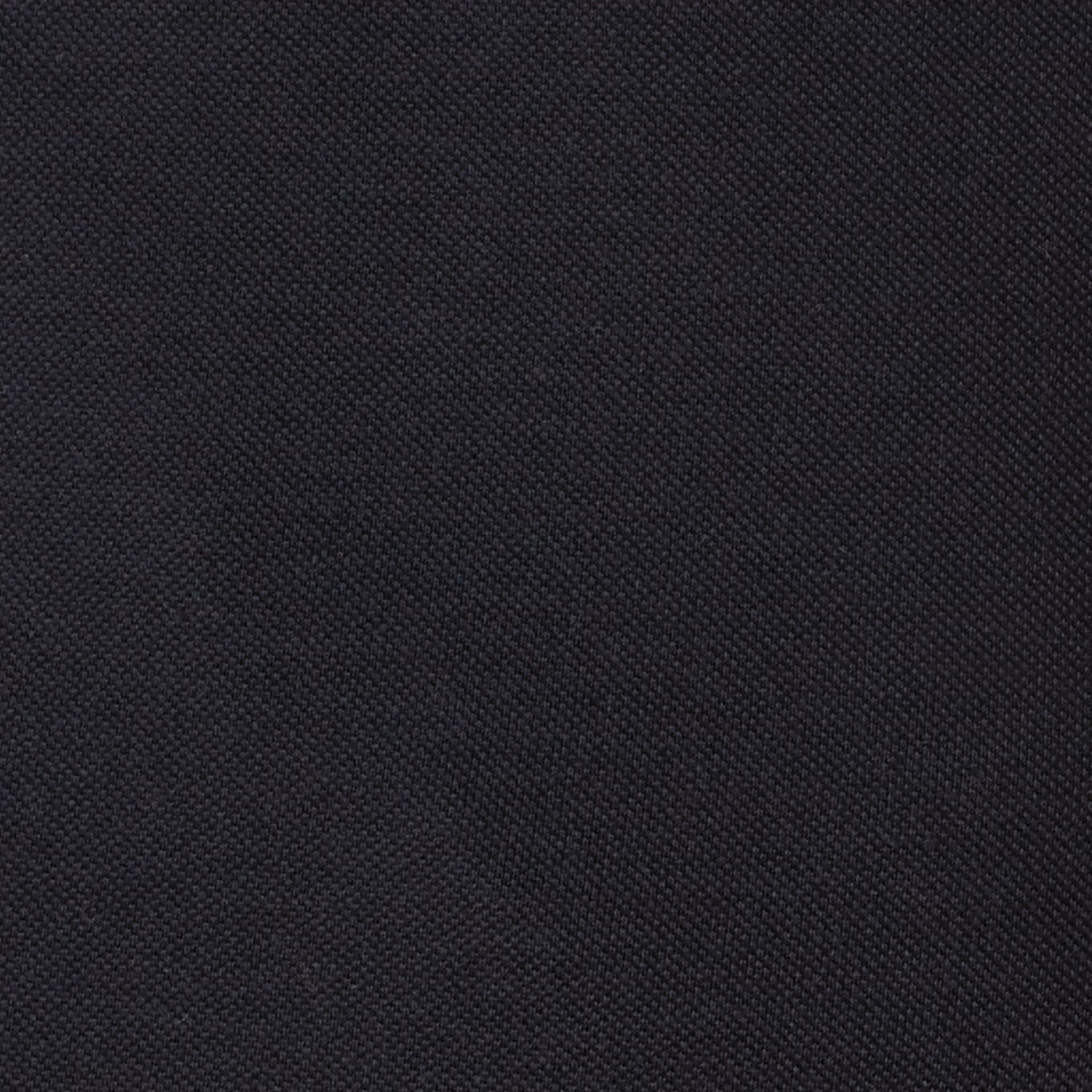 Dark navy Silk Cotton Polo Shirt Dark Navy - gallery image 2