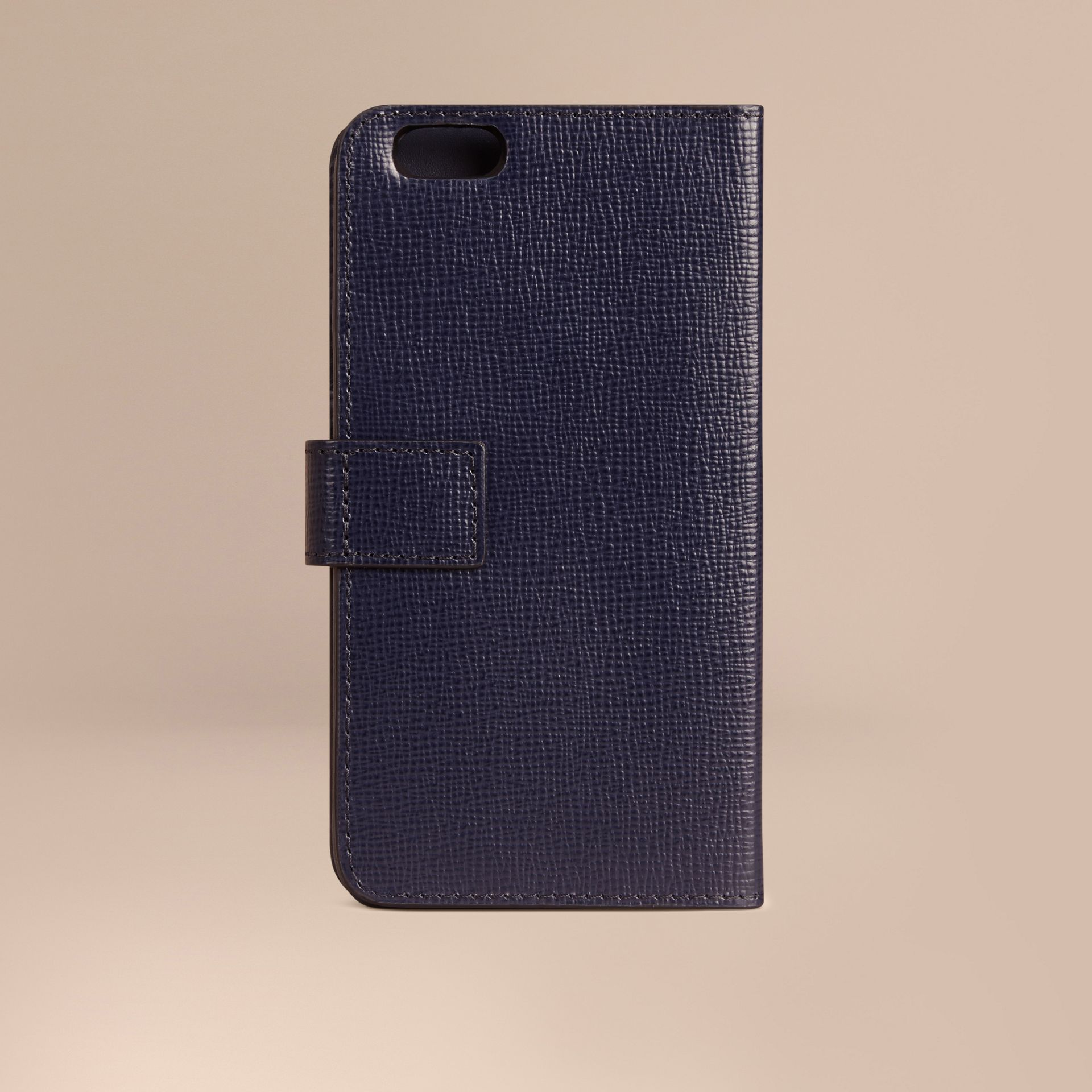 Dark navy London Leather iPhone 6 Flip Case Dark Navy - gallery image 3