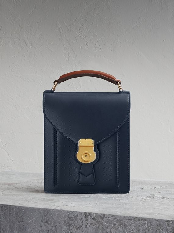 The Small DK88 Satchel in Dark Navy