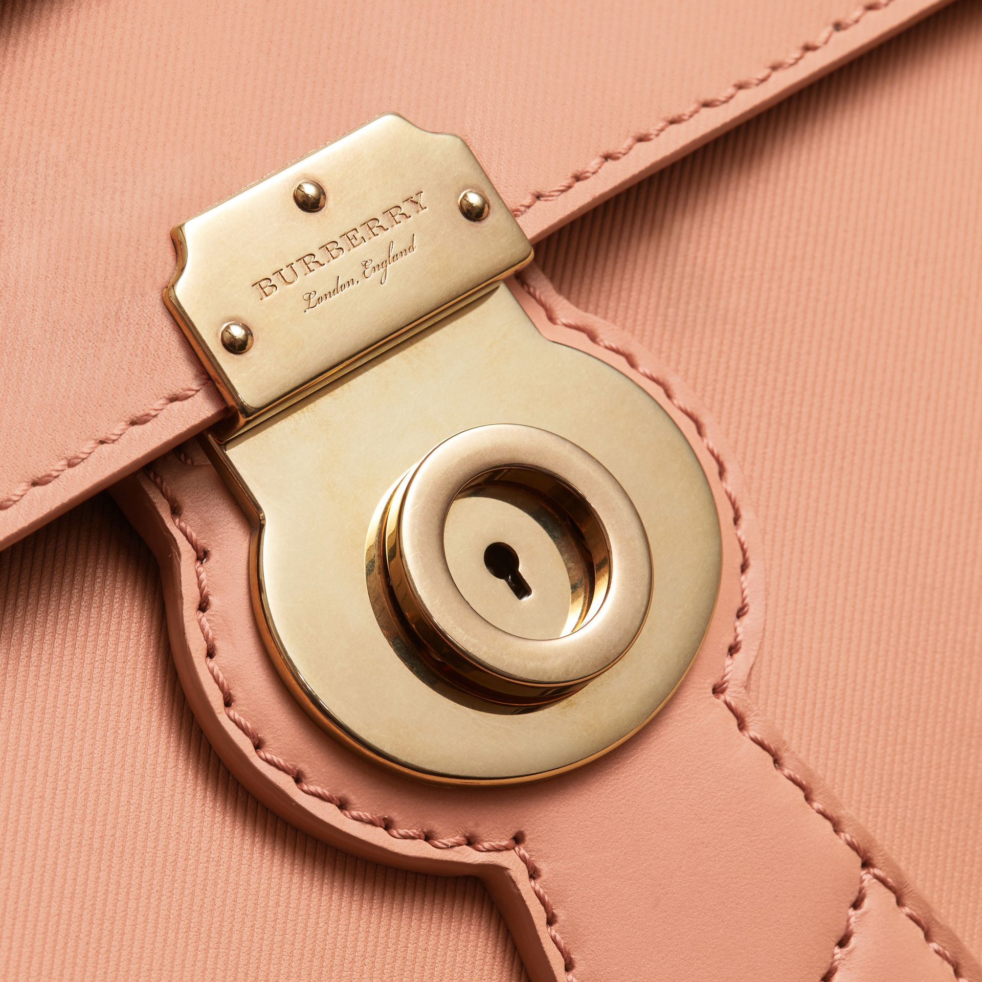 The Medium DK88 Satchel in Pale Clementine - gallery image 2
