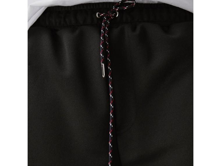Baumwollshorts mit Zugbandverschluss (Schwarz) - Herren | Burberry - cell image 1