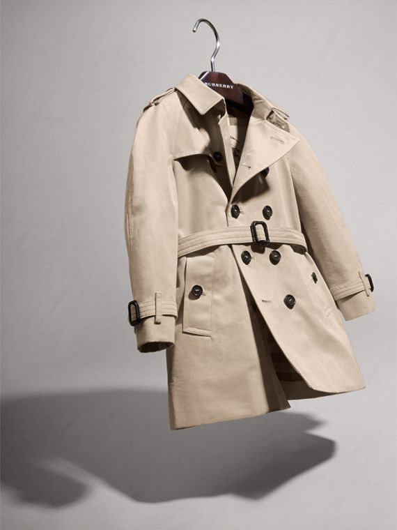 The Wiltshire – Heritage Trench Coat in Stone | Burberry - cell image 2