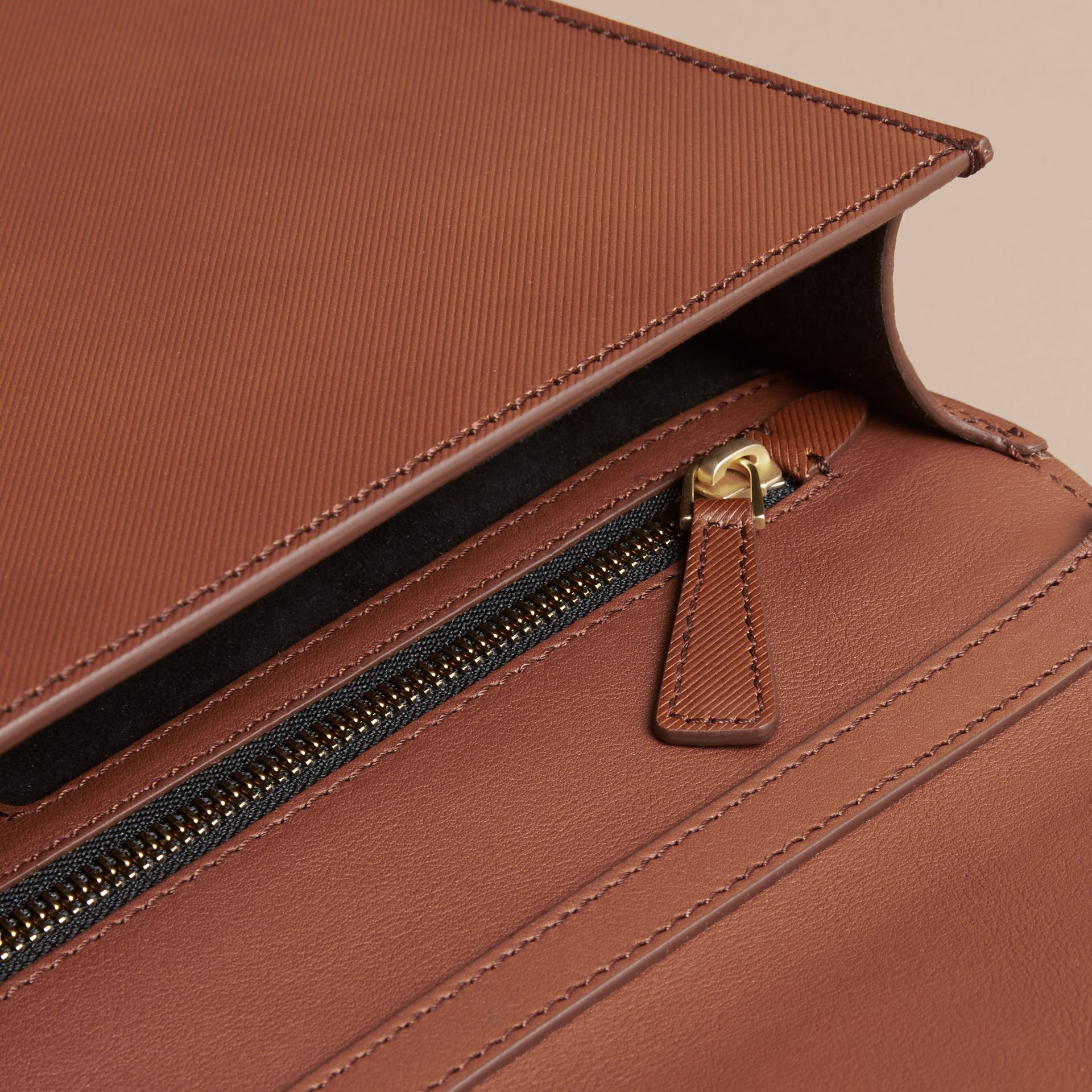 The Large DK88 Document Case in Tan - Men | Burberry - gallery image 6