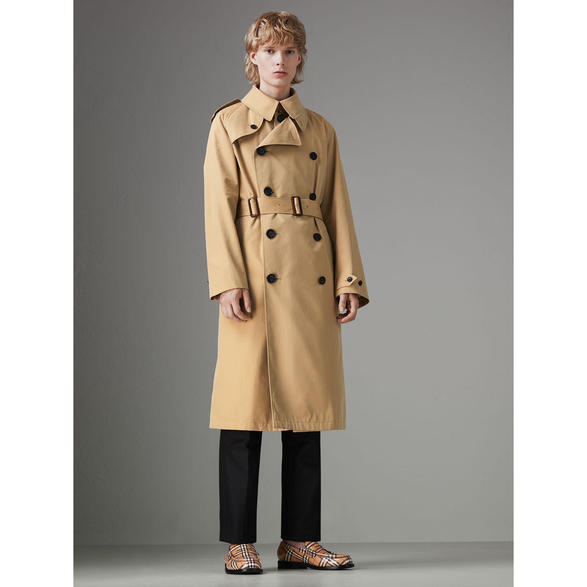 Gosha x Burberry Reconstructed Trench Coat in Honey | Burberry Singapore - gallery image 6